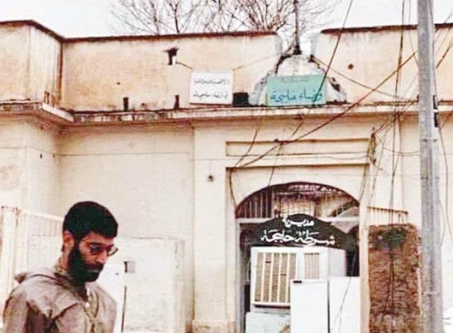 صورة لـ«أبو مهدي المهندس» في حلبجة تفتح ملف اتهام إيران بارتكاب جريمة ضرب المدينة بالكيماوي Abumahdi
