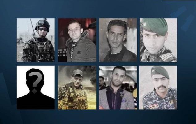 مقتل ١٣ عنصراً من الشرطة الاتحادية العراقية بهجوم لعناصر من داعش قرب كركوك Anaser13
