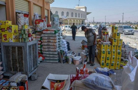 أسواق الموصل تنهض ببطء من دمارها      Bazarmusl