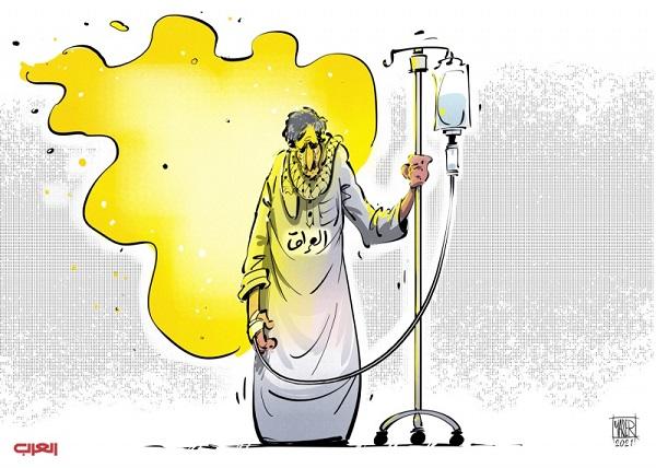 كاريكاتير -  العراق لا يزال يقاوم رغم هول الفساد والفاسدين. Iraq.Kr4
