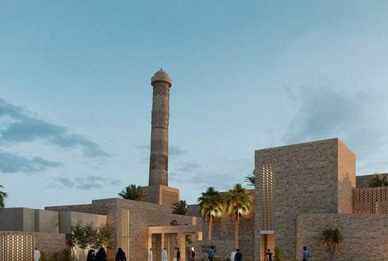 """تصميم """"دخيل"""" وشركات """"غيورة"""".. ترميم """"جامع النوري الكبير"""" يثير ضجة في العراق Nuri.Jm"""