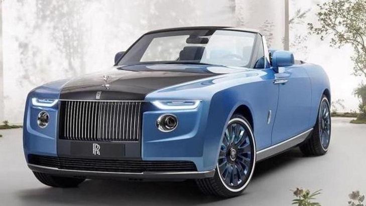 شاهد السيارة الأغلى في العالم سعرها ٢٨ مليون دولار!!           العربية نت:أغلى سيارة جديدة في العالم، هي التي كشفت عنها اليوم الخميس شركة Rolls-Royce البريطانية، وهي Boat Tail التي يصل سعرها إلى 20 مليون إسترليني، أي أكثر من Rr.1000000