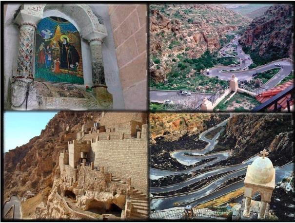 أهم المواقع الأثرية العراقية - دير الربان هرمزد في القوش       Der.Alk