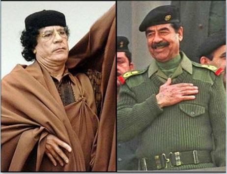 إيران تكشف عن شرط القذافي منحها صواريخ: تضربون بها العراق ودولة عربية Sadam.Qd