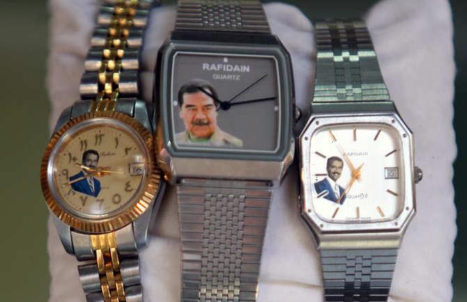 تاريخ تجارة الساعات في العراق Sadam.UHR.3
