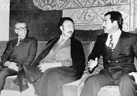 ذكرى معاهدة عام ١٩٣٧ . أول ترسيم للحدود الإيرانية مع العراق بعد تأسيس دولته الحديثة Sadam.shah.12