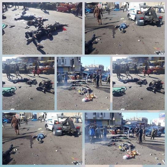 ارتفاع ضحايا انفجار بغداد .. ومسؤولون يكشفون التفاصيل, 21 كانون2/يناير 202    Enthar21.B