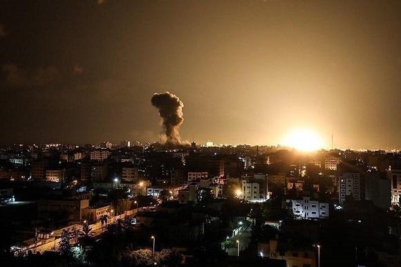 خلال ٤٠ دقيقة.. إسرائيل تعلن الإغارة على ١٥٠ هدفاً بغزة عبر ٤٥٠ صاروخًا وقذيفة Gaza02