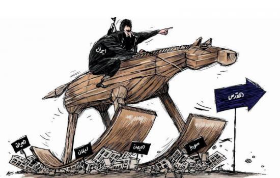 كاريكاتير - الطريق الى القدس Quds.Kr