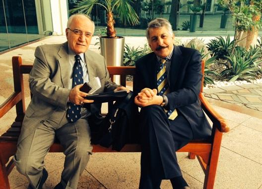 البروفيسور الدكتور سامي اصفر -  واحد من المع نجوم العراق : الدكتور منذر الدوري    Samiasfar.2