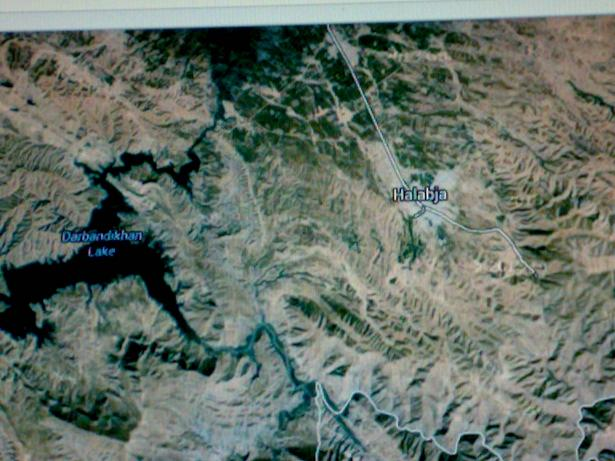 شيء من التأريخ / الهجوم الإيراني على قاطع الفيلق الأول     شيء من التأريخ / الهجوم الإيراني على قاطع الفيلق الأول في حلبجه وشميران ليلة 13 /14 آذار 1988             Halabja.KT.2