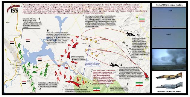 شيء من التأريخ / الهجوم الإيراني على قاطع الفيلق الأول     شيء من التأريخ / الهجوم الإيراني على قاطع الفيلق الأول في حلبجه وشميران ليلة 13 /14 آذار 1988             Halabja.KT4
