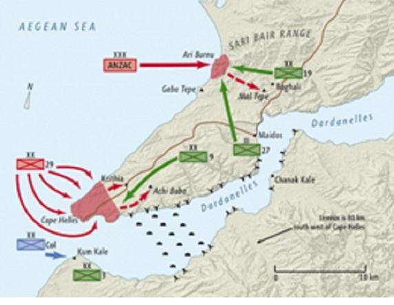 معارك چاناق قلعة/ غاليبولي Gallipoli.4