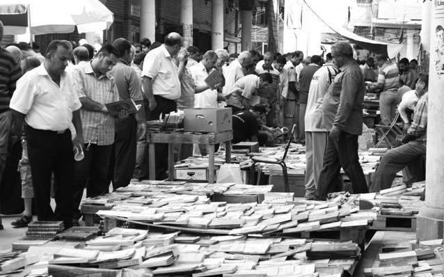 شارع المتنبي يستعيد نبضه وينفض الغبار عن كتبه        Mutanabi.st.5