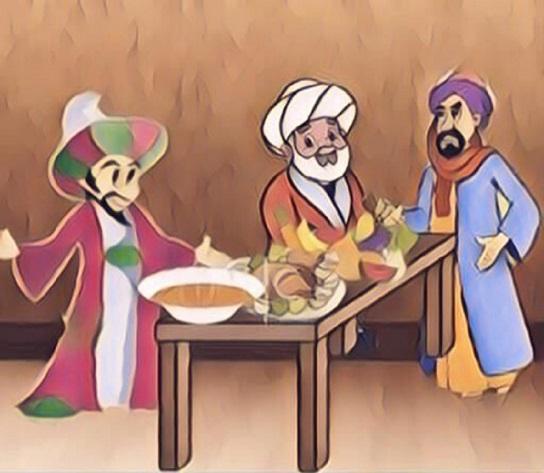 طرائف رمضانية.. حكاية البخيل وقتيل القطائف تم      طرائف رمضانية.. حكاية البخيل وقتيل القطائف يُعد الشاعر جحظة البرمكي (ت٣٢٤ Ashaab1