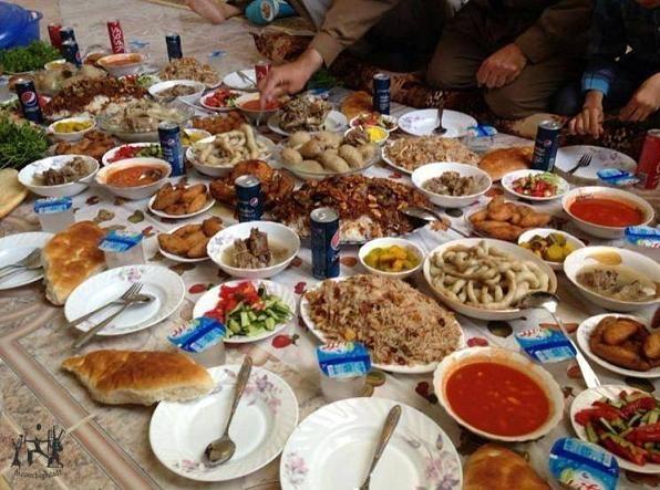 مائدة عيد الفطر.. تقليد كردي عريق للاحتفال في شمال العراق Akel.IR.021