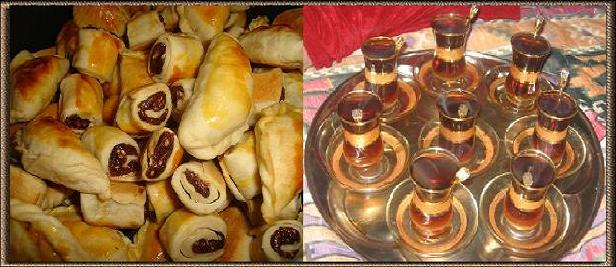 تحله الگعده ويه الچاي صبوله من راس القوري Klecha.Chay.1
