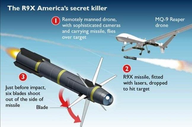 معلومات مهمة عن صاروخ (النينجا) الذي استخدم لقتل قاسم سليماني و المهندس!   Ninja
