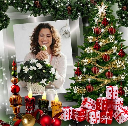 تهنئة لمناسبة عيد ميلاد السيد المسيح وأعياد رأس السنه الميلاديه Christmas%20tree.2