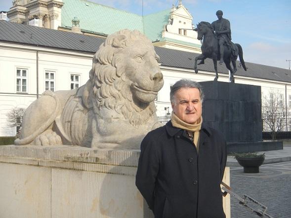 زيارتي الى وارشو ( الحلقة الاولى) وارشو عاصمة الثقافة والعلوم و الفنون /جلال چرمگا Pl.03