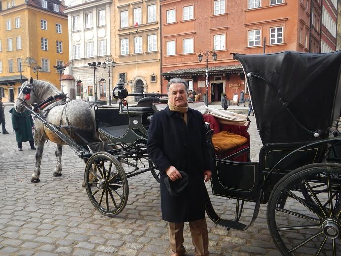 زيارتي الى وارشو ( الحلقة الاولى) وارشو عاصمة الثقافة والعلوم و الفنون /جلال چرمگا Pl.7